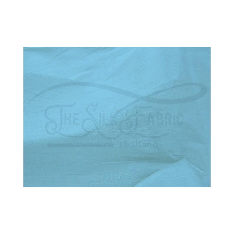 Sky blue S126 Silk Shantung Fabric