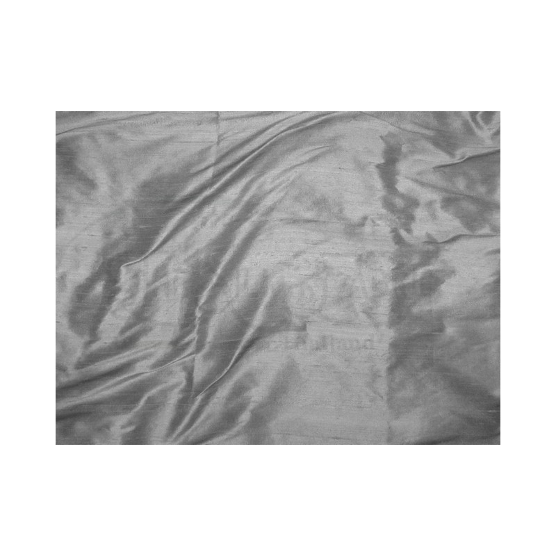 Davy's gray S147 Silk Shantung Fabric