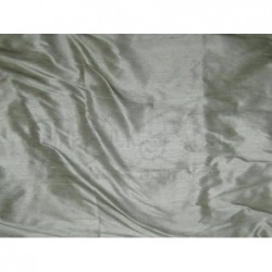 Pewter S148 Silk Shantung Fabric