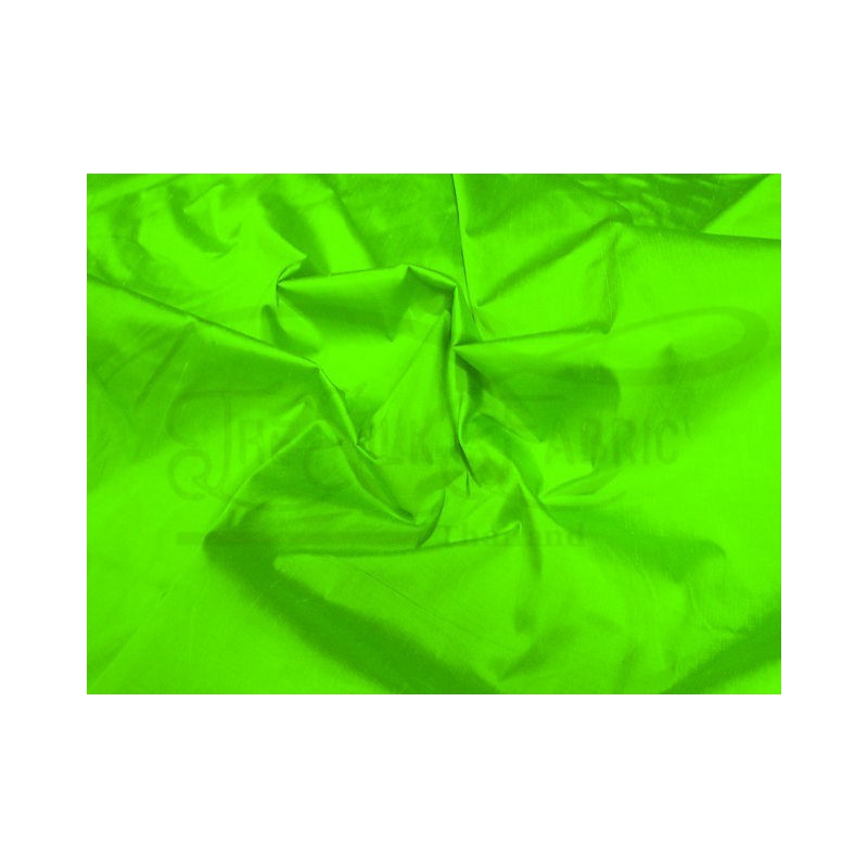 Bright green S169 Silk Shantung Fabric