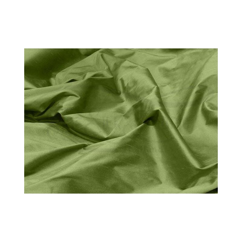 Moss green S179 Silk Shantung Fabric