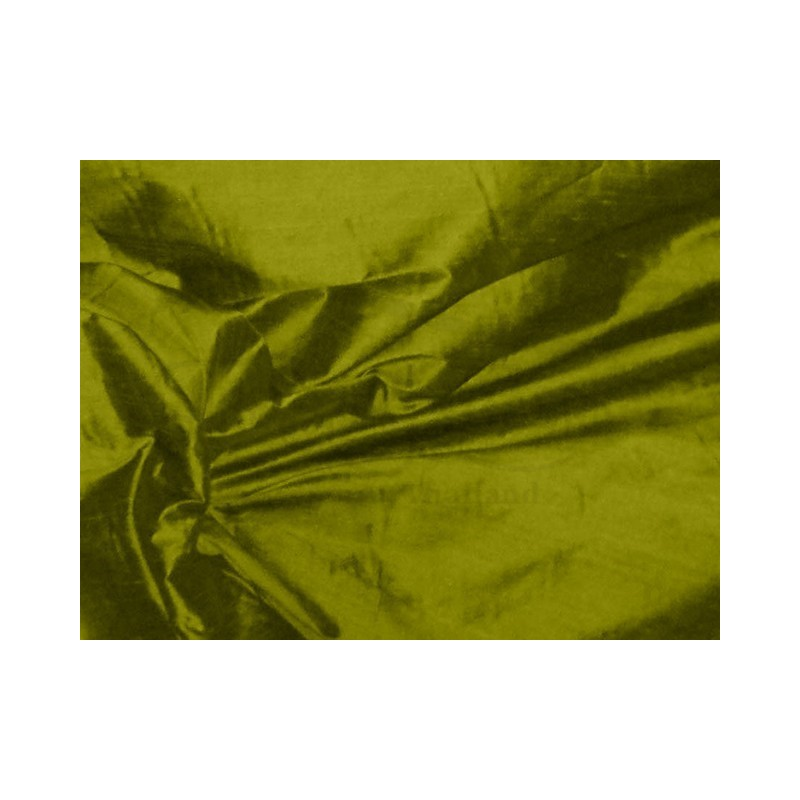 Olive S181 Silk Shantung Fabric