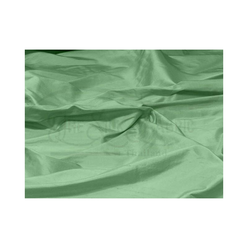 Russian green S185 Silk Shantung Fabric
