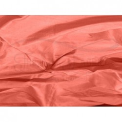 Dark Salmon S249 Silk Shantung Fabric