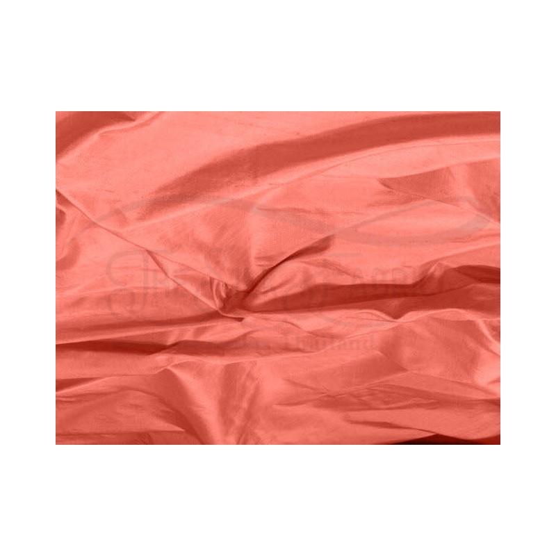 Dark Salmon S249 Silk Shantung Fabric