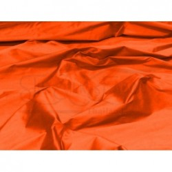 Orange red S254 Silk Shantung Fabric
