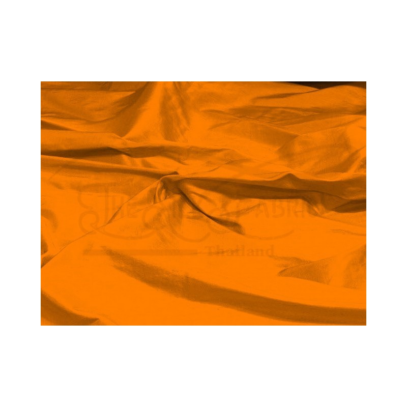 Orange S255 Silk Shantung Fabric