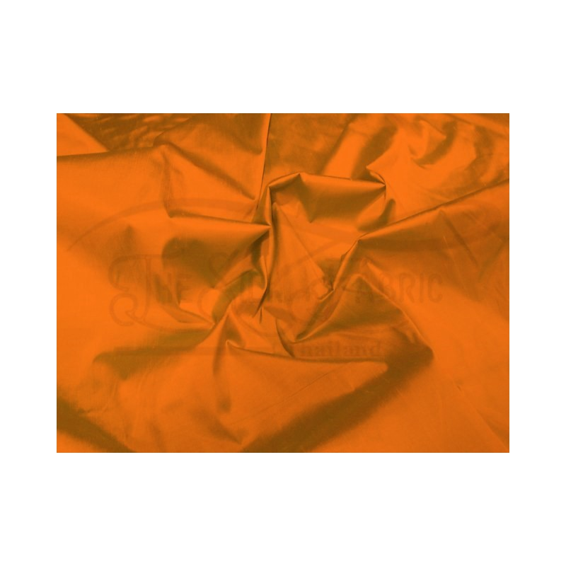 Pumpkin S256 Silk Shantung Fabric