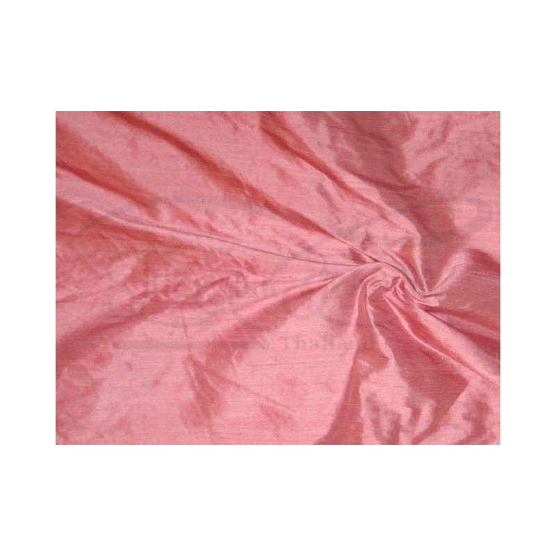 New York Pink S298 Silk Shantung Fabric