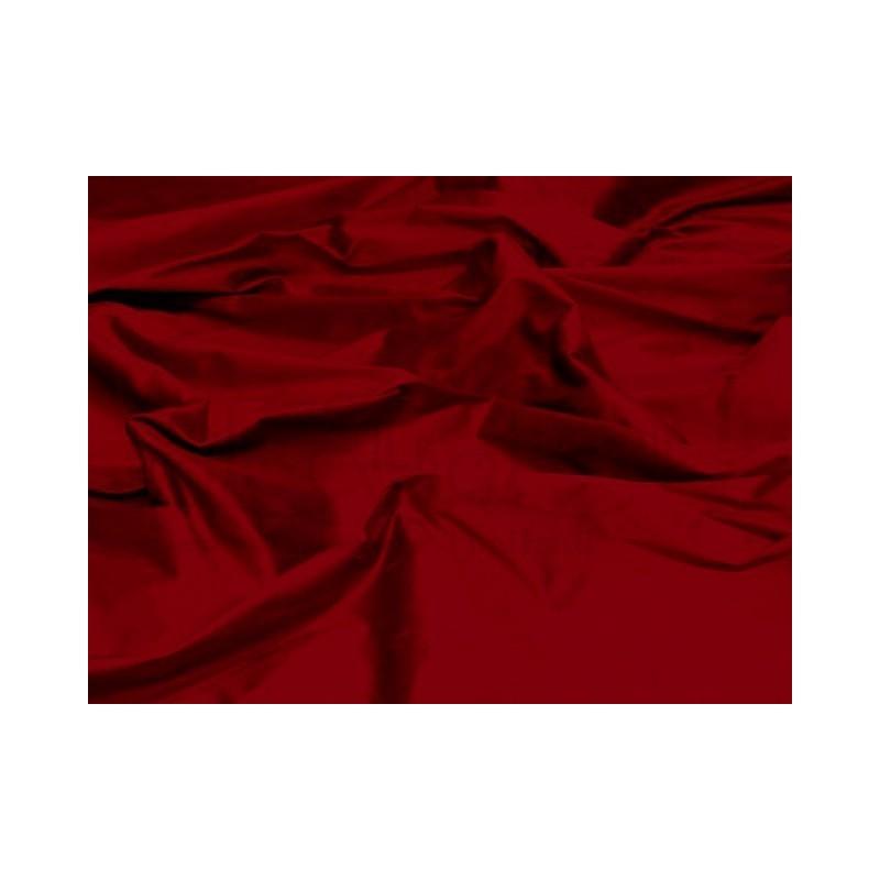 Burgundy S331 Silk Shantung Fabric