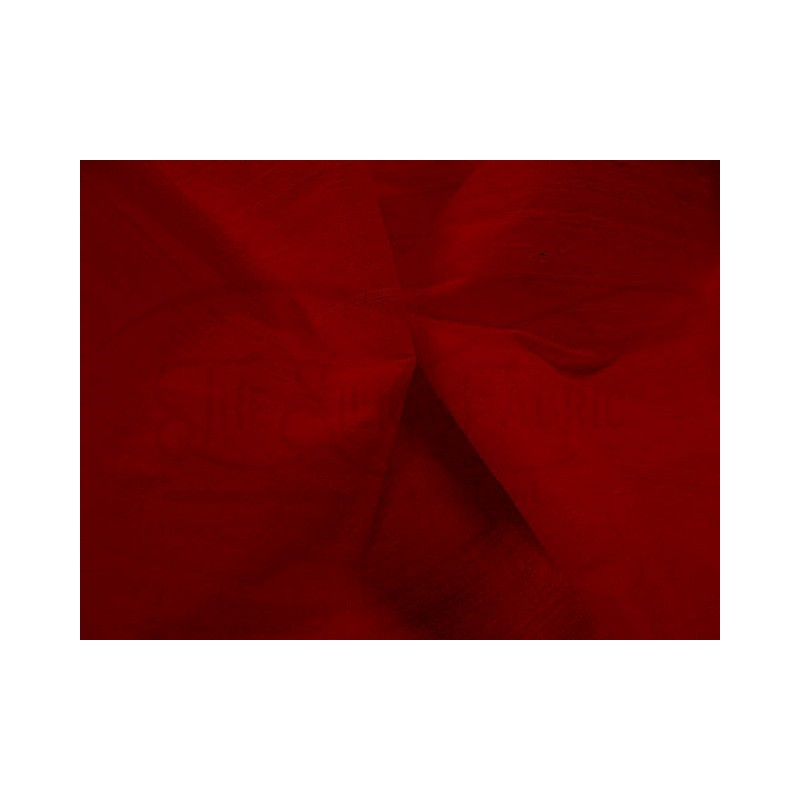 Dark red S333 Silk Shantung Fabric