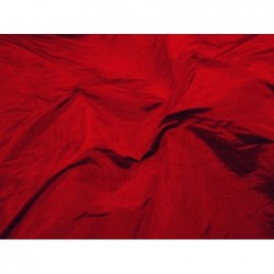 Venetian red S338 Silk Shantung Fabric