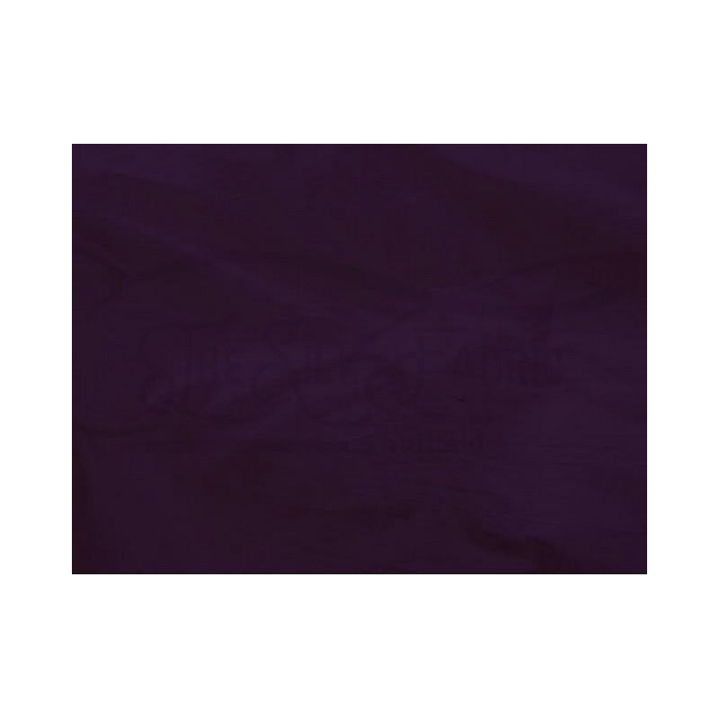 Dark purple S383 Silk Shantung Fabric