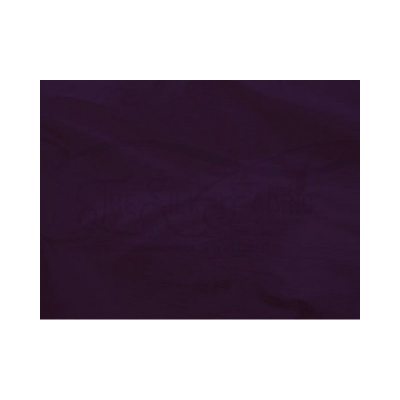 Dark purple S383 Silk Shantung Fabric