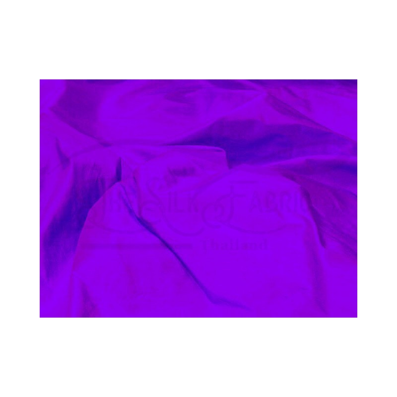 Electric violet S388 Silk Shantung Fabric