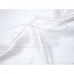 White S433 Silk Shantung Fabric