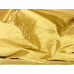 Metallic Gold S461 Silk Shantung Fabric