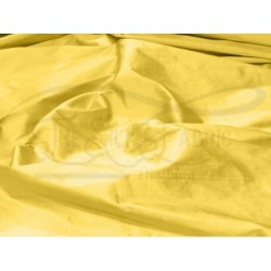 Still de grain yellow S465 Silk Shantung Fabric