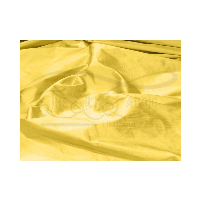 Still de grain yellow S465 Silk Shantung Fabric