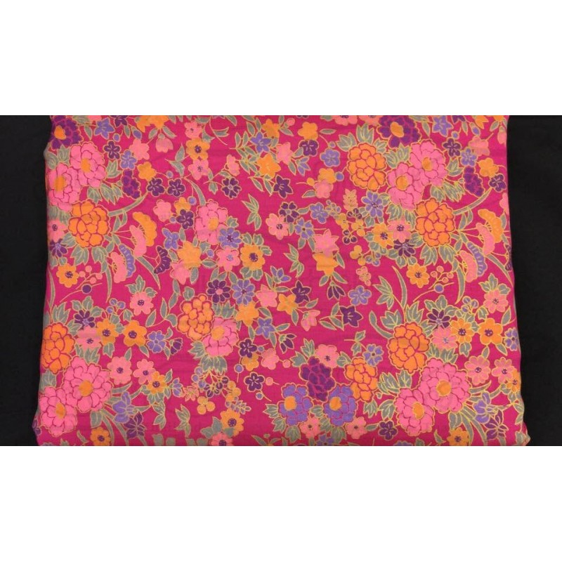 Silk Taffeta Printed TP017