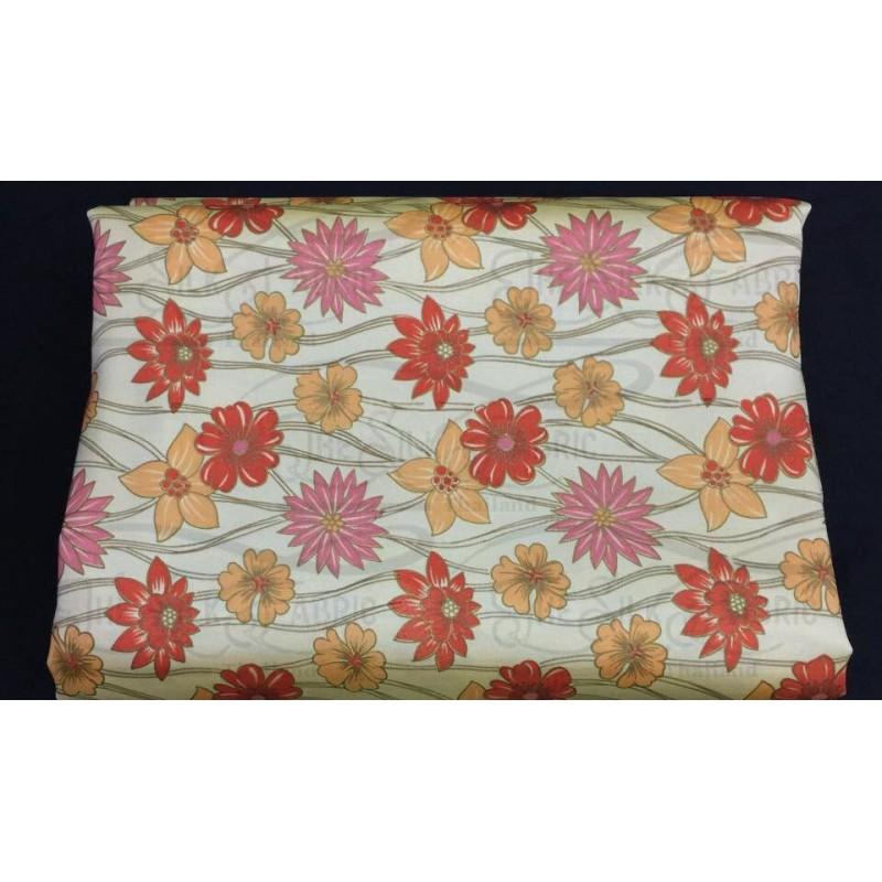 Silk Taffeta Printed TP043