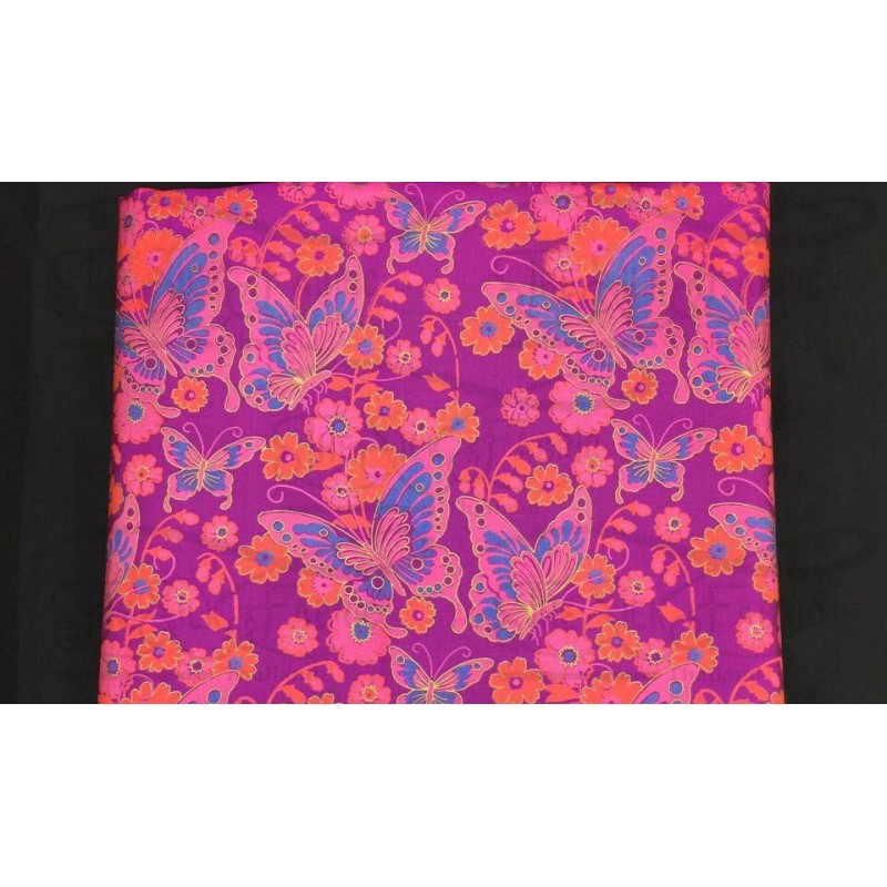 Silk Taffeta Printed TP055