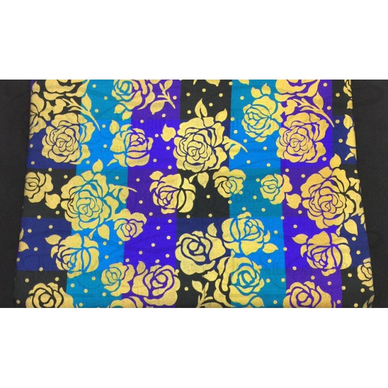 Silk Taffeta Printed TP059