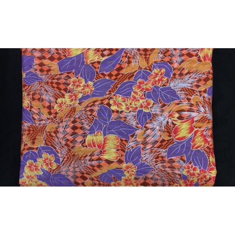 Silk Taffeta Printed TP076