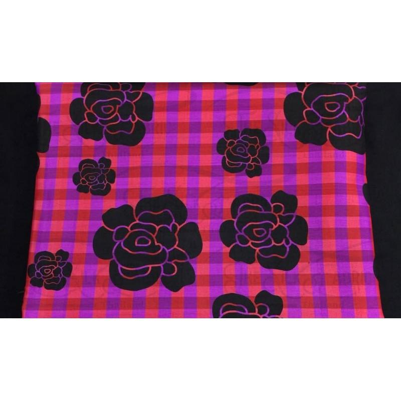 Silk Taffeta Printed TP082
