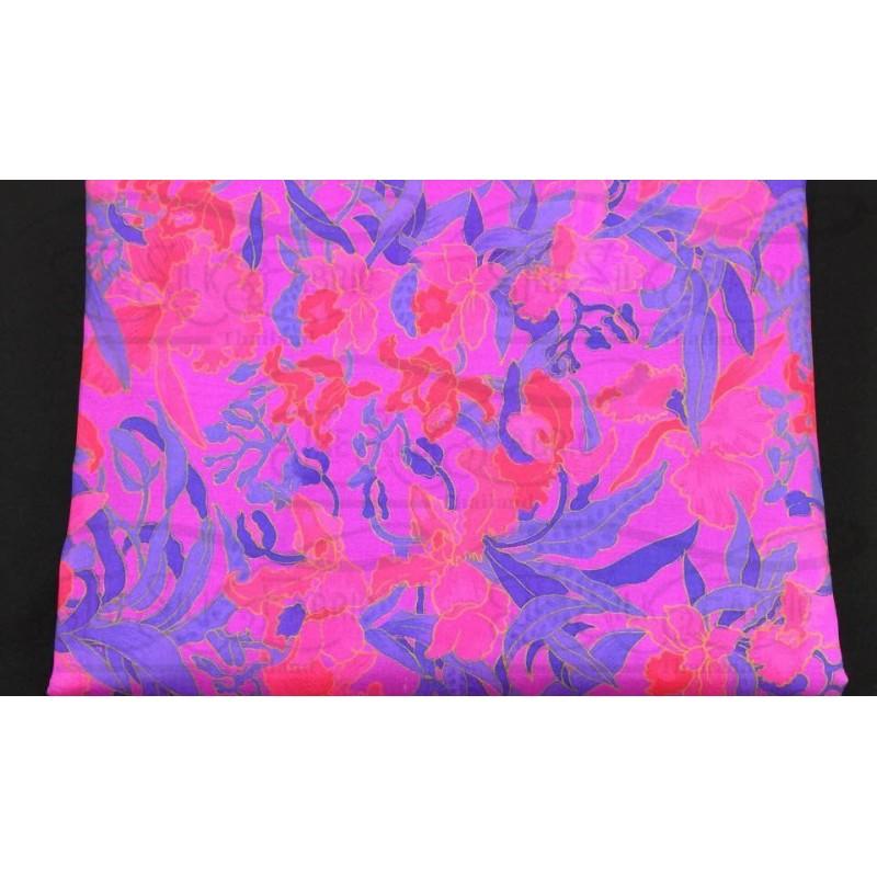 Silk Taffeta Printed TP130