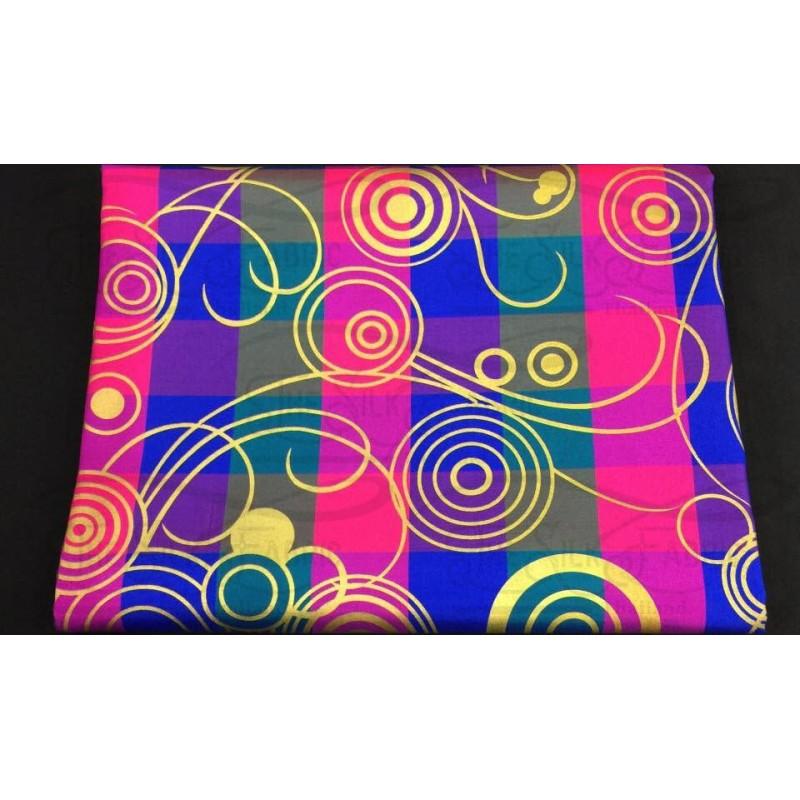 Silk Taffeta Printed TP257