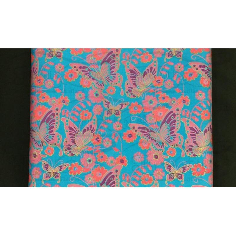 Silk Taffeta Printed TP274