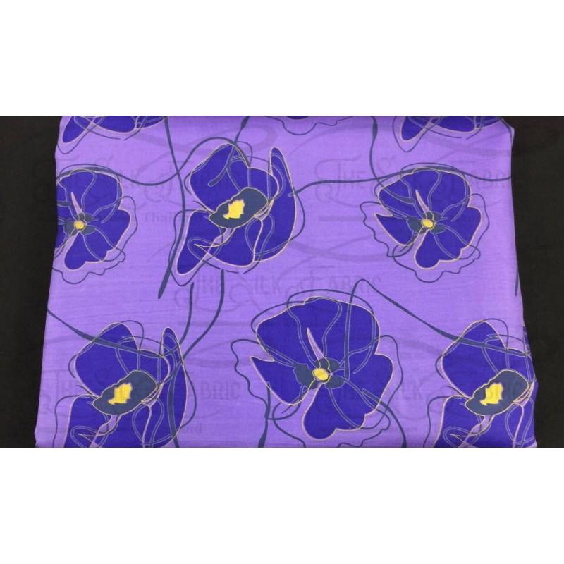Silk Taffeta Printed TP343