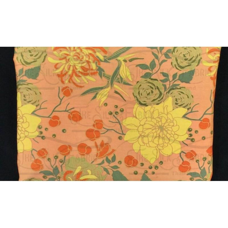 Silk Taffeta Printed TP366