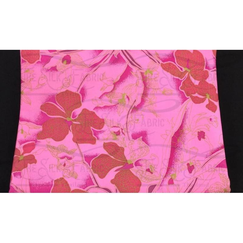 Silk Taffeta Printed TP373
