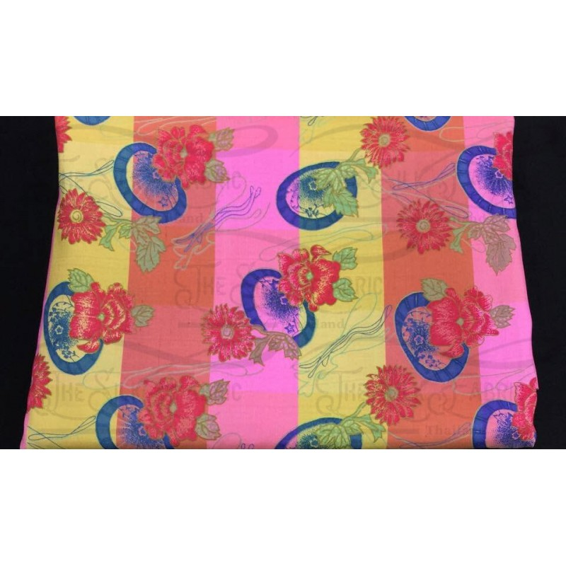 Silk Taffeta Printed TP379