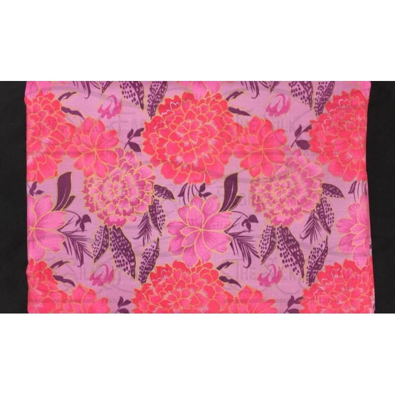 Silk Taffeta Printed TP382