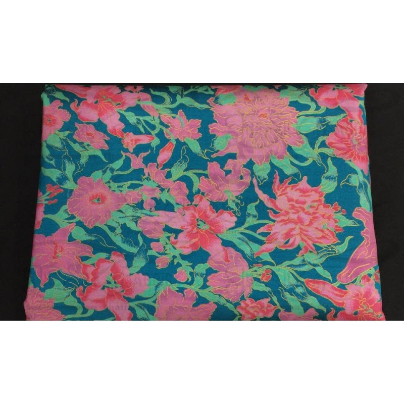 Silk Taffeta Printed TP384