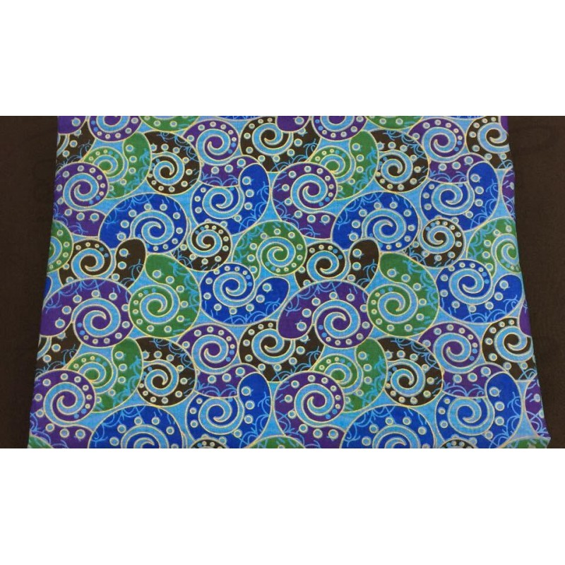 Silk Taffeta Printed TP385