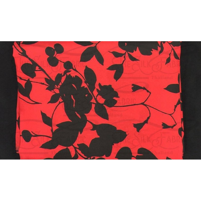 Silk Taffeta Printed TP389