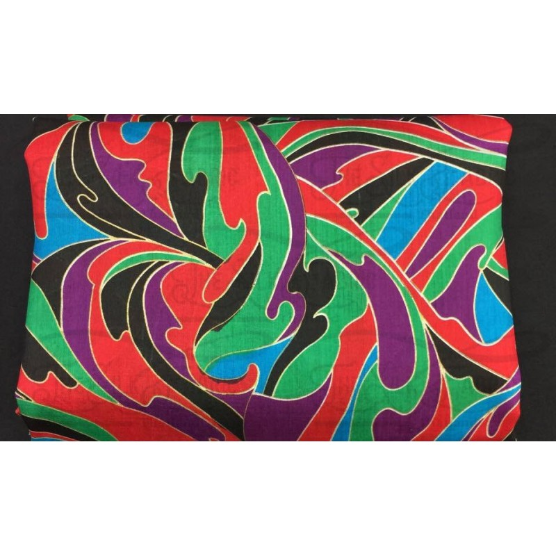 Silk Taffeta Printed TP431