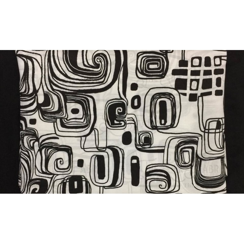 Silk Taffeta Printed TP444