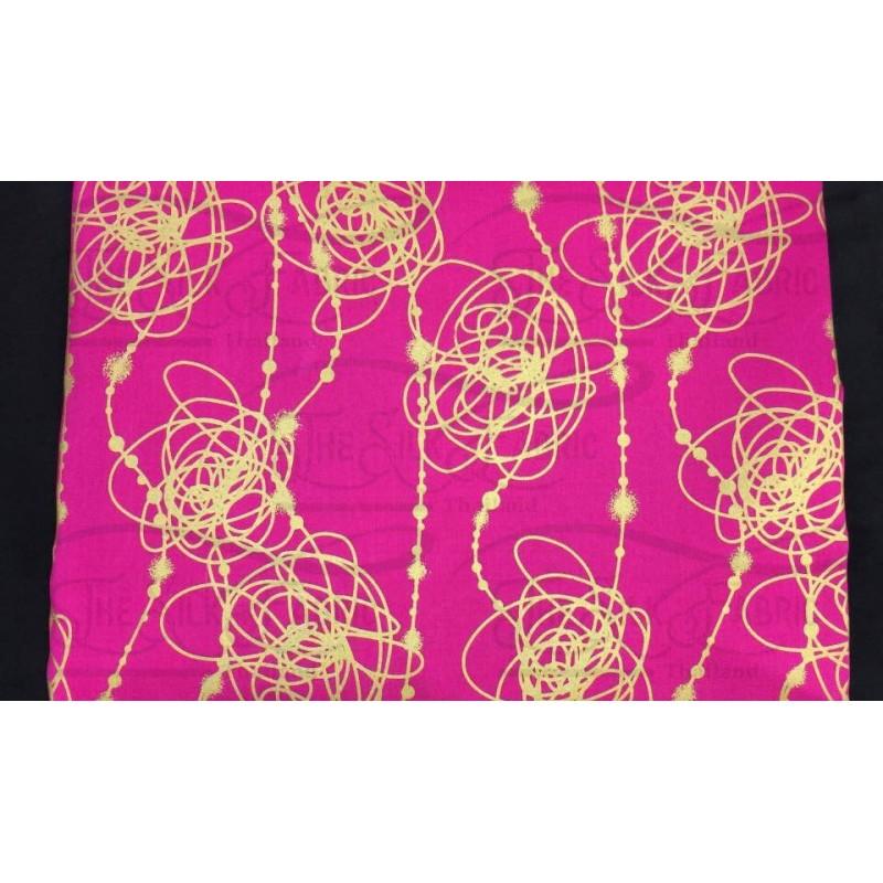 Silk Taffeta Printed TP476